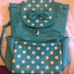Handbags - Teal Backpack